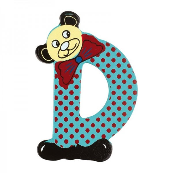 lettre - D - pour lettres d'alphabet ABC