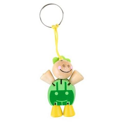Schlüsselanhänger,Flexi Schildkröte,Grün