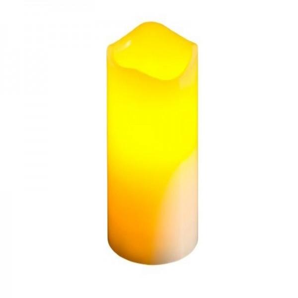 Chandelle à LED, scintillante, 7.5x20cm