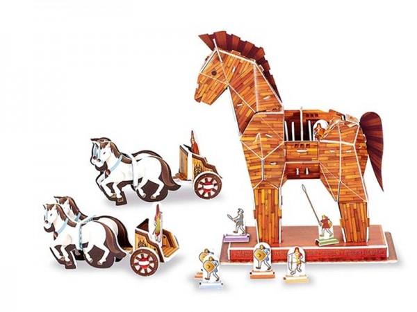 3D-Puzzle Trojanisches Pferd