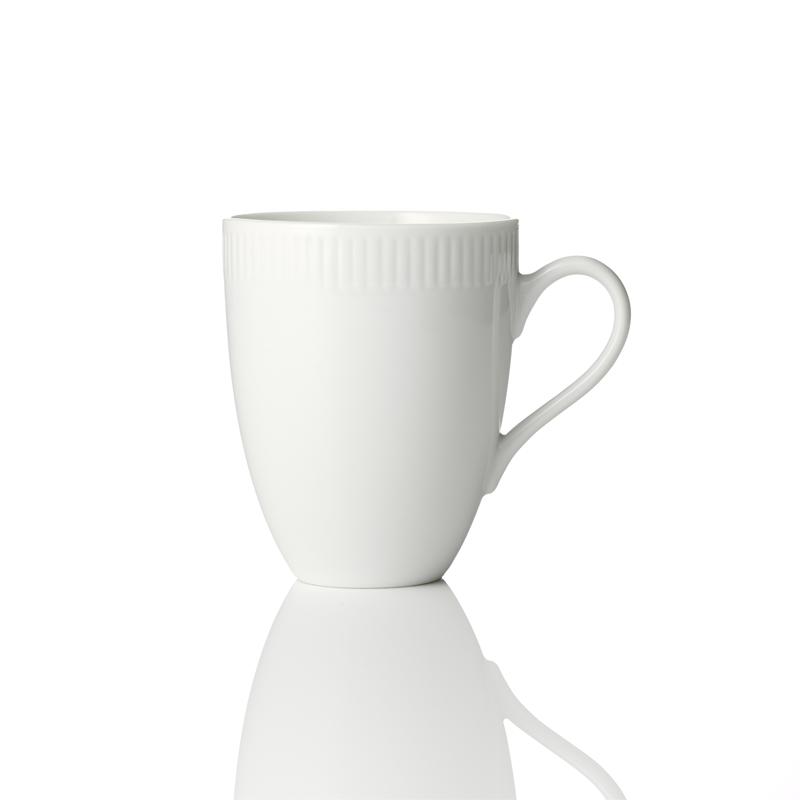 Geschirr relief 4Stk. Tassen (Mug, Becher) 30cl, relief 4Stk. Tassen (Mug, Becher) 30cl