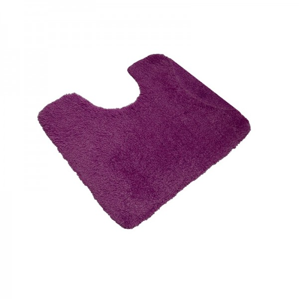 Bad OPAL VINO-ROT WC-Teppich 55x50cm
