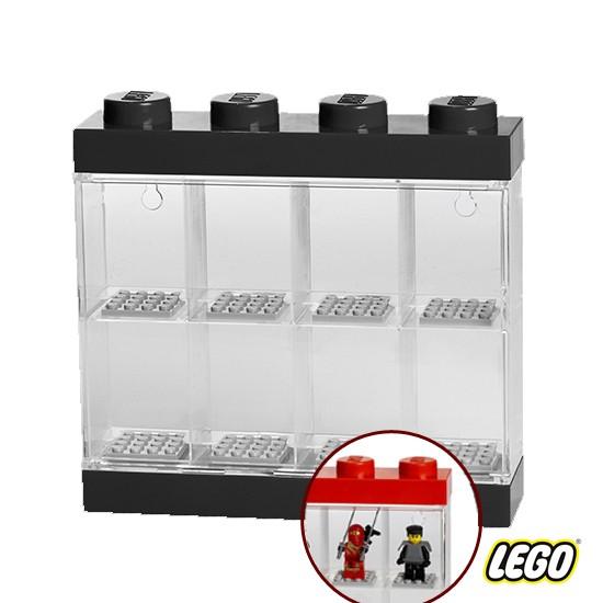 Lego Minifigure Display Case 4 Knob, Blk