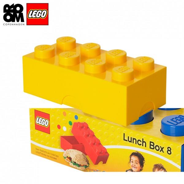 XL Lego Lunchbox oder auch Etui, Gelb