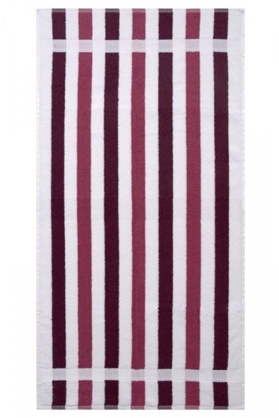 OPAL VINO-BROMB Streifen Duschtuch70x140