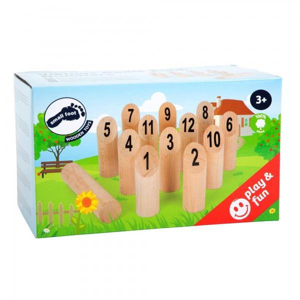 Wikingerspiel Kubb Nummern (Zahlen)