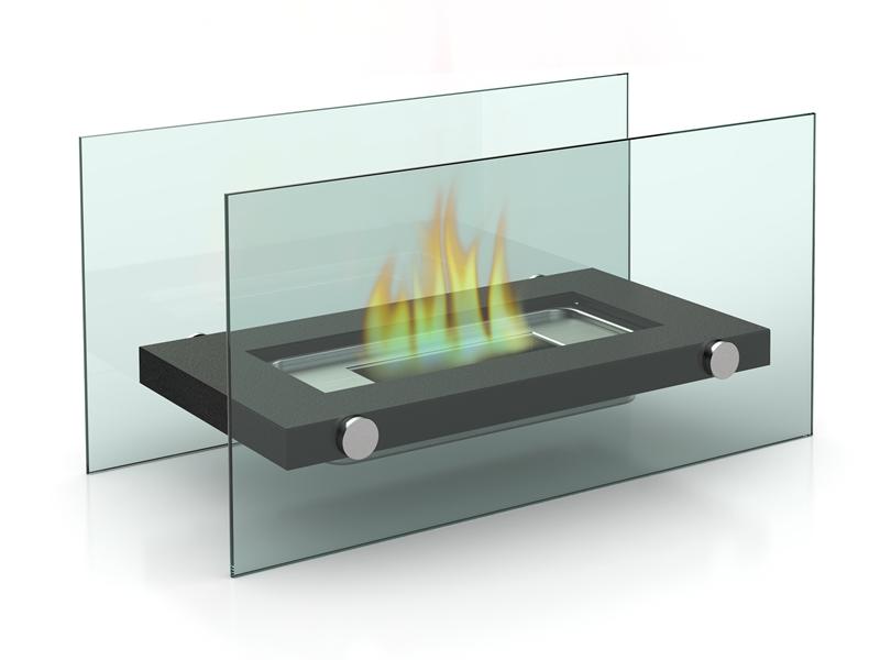 Tisch-Kamin, Tischkamin DESIGN-02 (Bio-Ethanol), Tischkamin FireFriend D-6502, Bioethanol