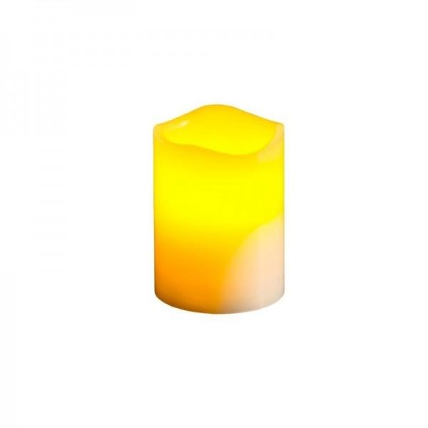 LED Kerze flackernd, Timer, d:7.5,h:10
