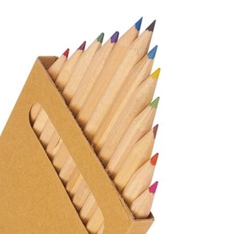 Farbstift, Buntstift -Quadrat- Set 12Stk