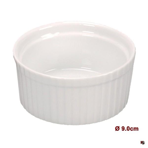 Ramequin, kleine Porzellan Form, 9.0cm