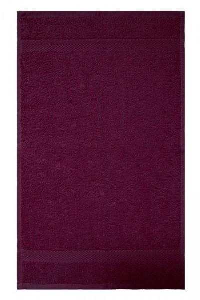 OPAL VINO-ROT Gästetuch 30x50cm