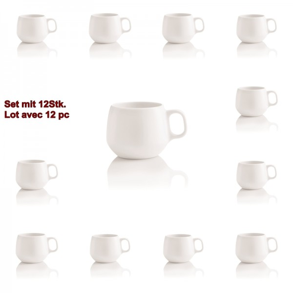 ENSO 12pc tasses à café 18cl