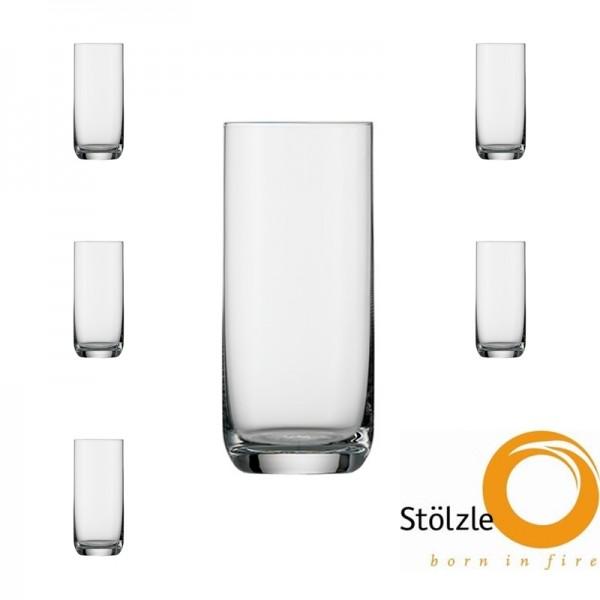 Glas, CLL, 6x Longdrinkgläser, 320