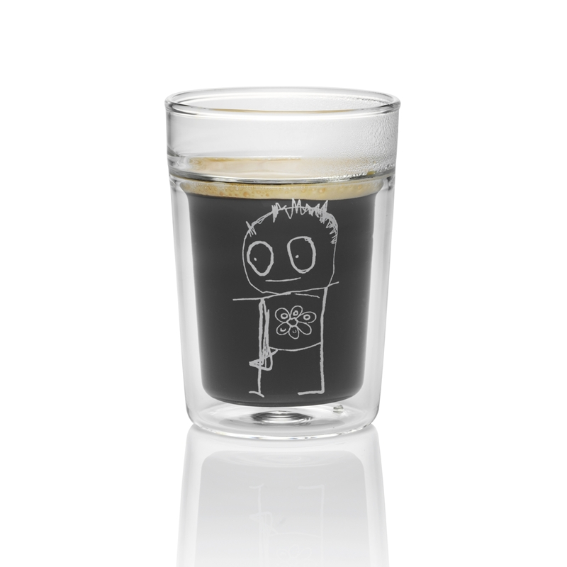 Unik POUL PAVA pure friends thermogläser espresso 0.09l, 2Stk   kochshop.ch AA96