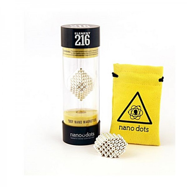 Nano dots Silber Edition 216Stk. Kugeln
