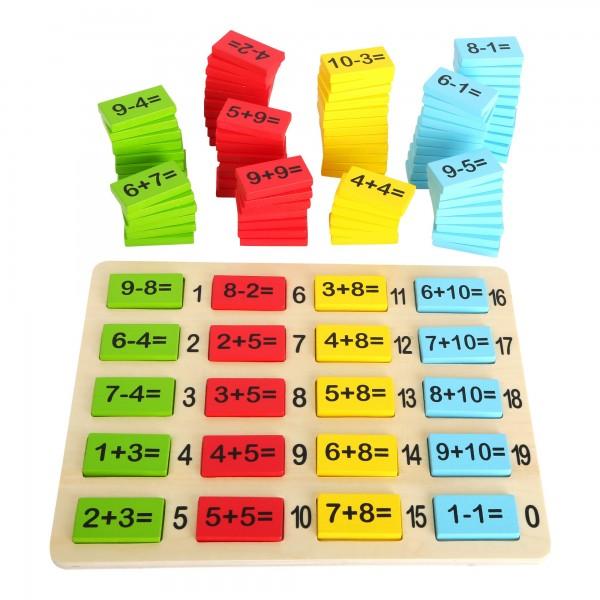 Table à calcul addition et soustraction