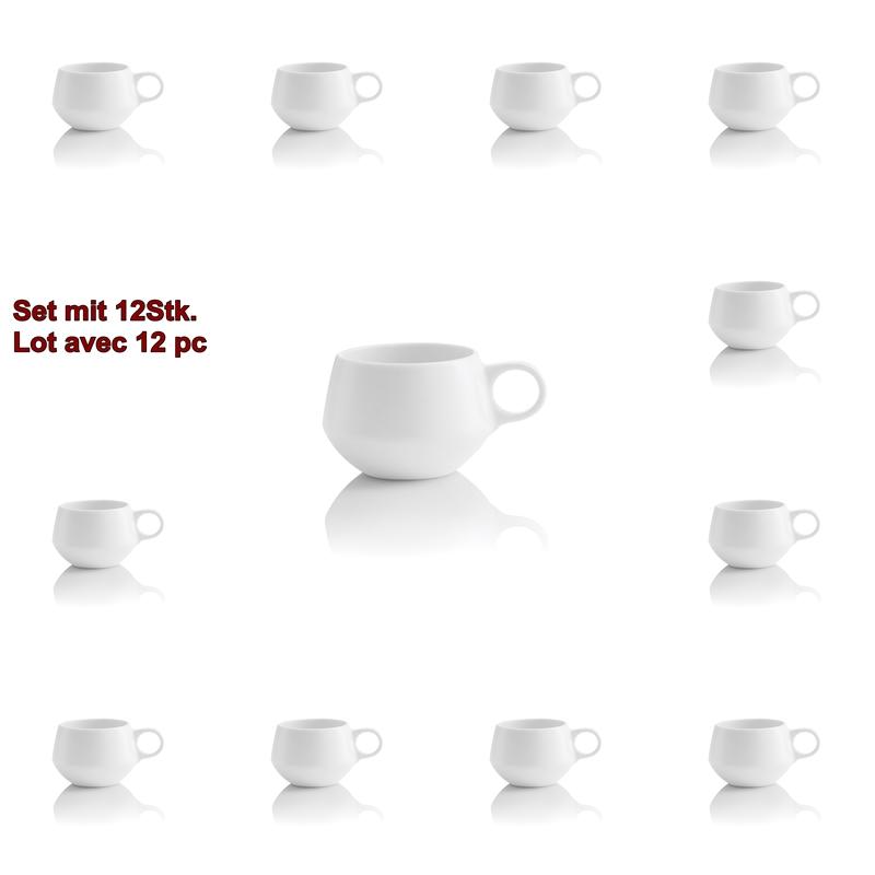 Geschirr ENSO 12Stk. Espressotassen 8cl, ENSO 12Stk. Espressotassen 8cl
