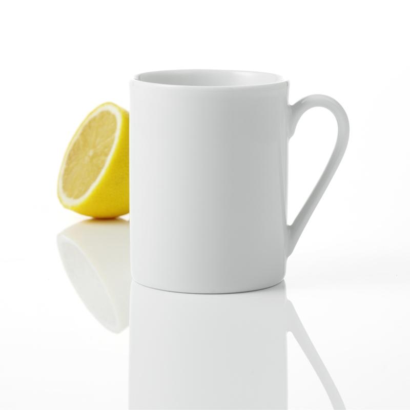 Geschirr ATELIER SUPER WHITE 6Stk. Mugs (grosse Tassen), ATELIER SUPER WHITE 6Stk. Mugs grosse Ta