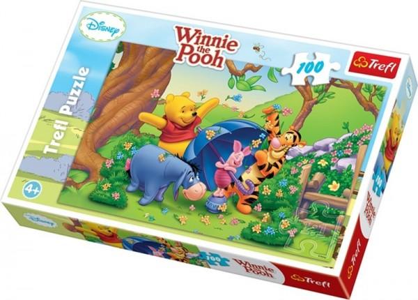 Puzzle 100tlg, Disney -Winnie the Pooh-