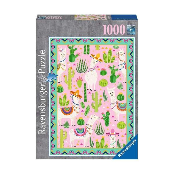 Ravensburger Puzzle 1000 - alpagas
