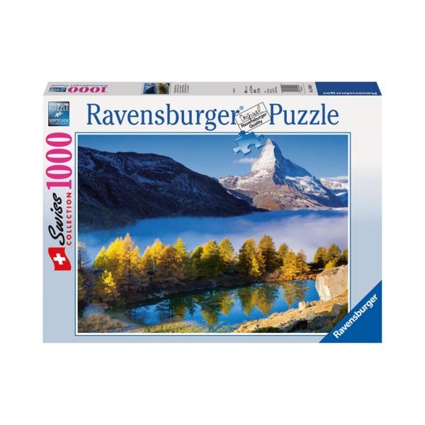 Ravensburger Puzzle 1000 Cervin, Grindij