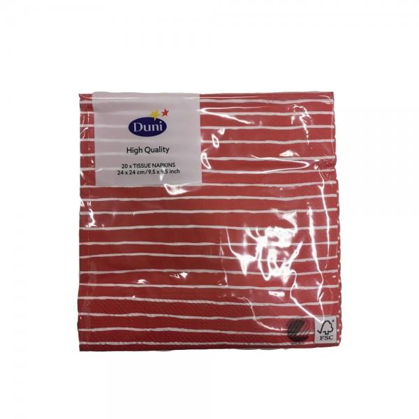 20pc serviettes de table de Duni