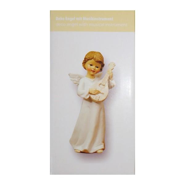 Engel am Ukulele Spielen, 8 x 5.5 x 15cm