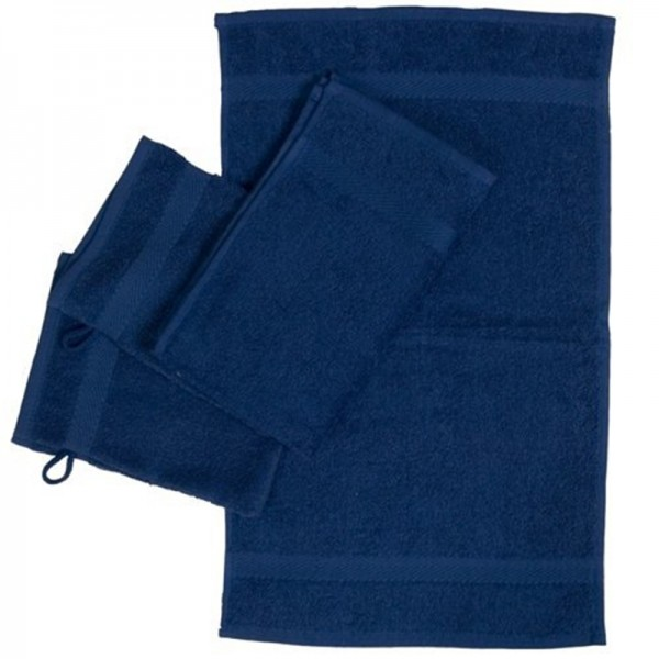 OPAL bleu royale gant toilette30x30cm