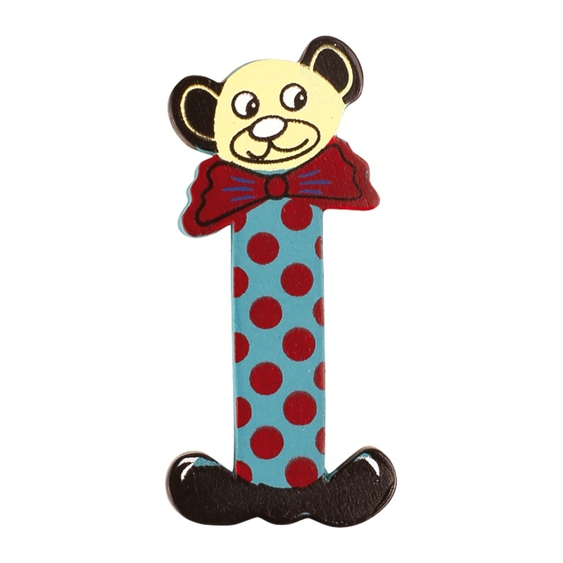 Nett Holzbuchstaben Kinderzimmer Sevi Clown Ideen - Schlafzimmer ...