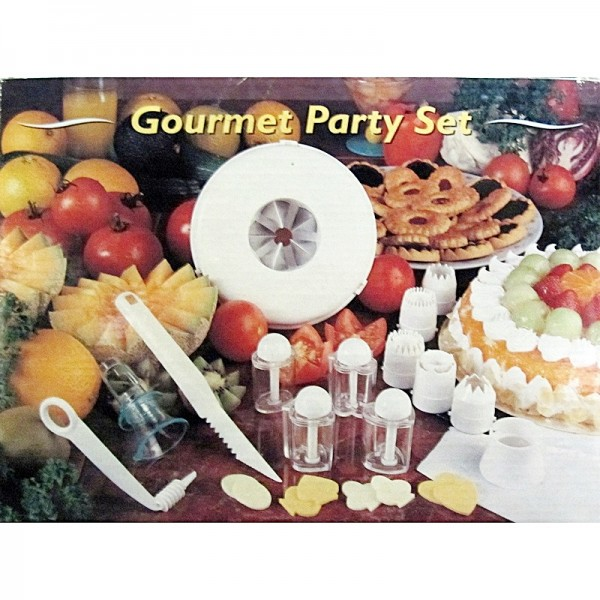 Gourmet Party Set, Ausstechformen etc