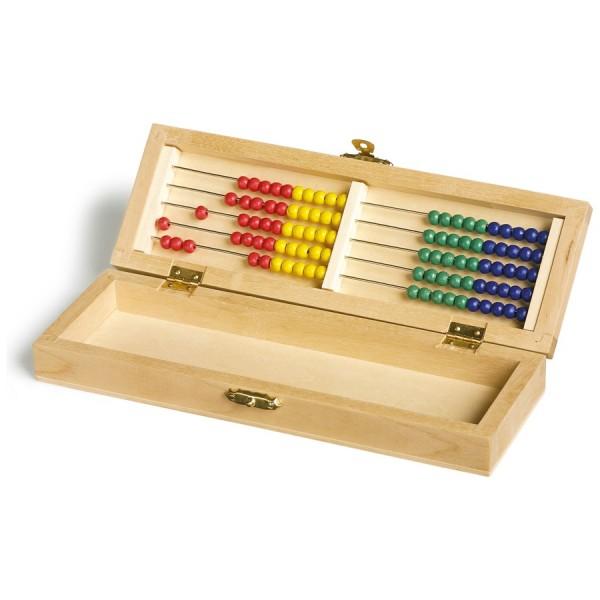 Büro-/ Schul-Aufbewahrungsbox mit Abakus