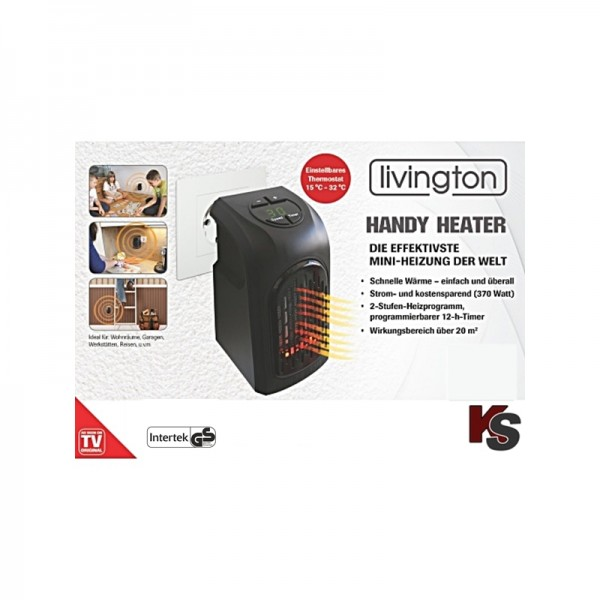 Livington Handy Heater Deluxe radiateur