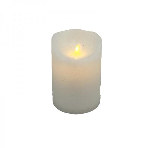 LED Kerze mit beweglicher Flamme, 9x12.5