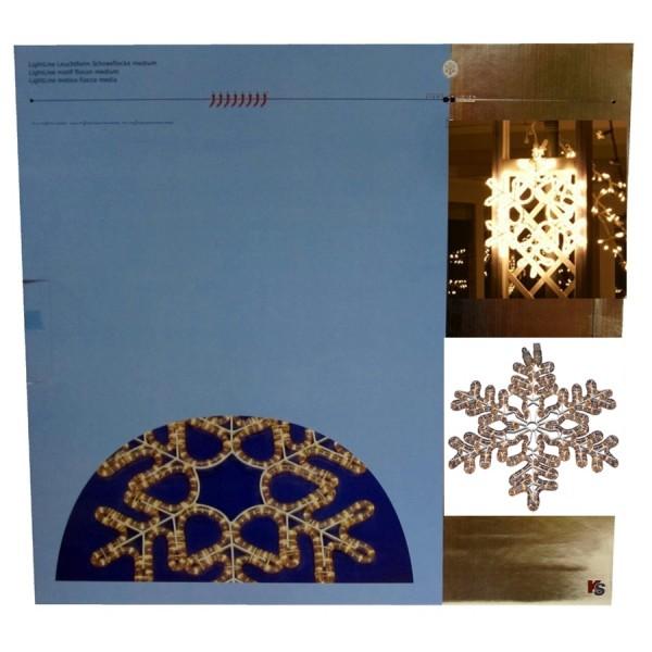 LightVision Leucht- Schneeblume 50cm