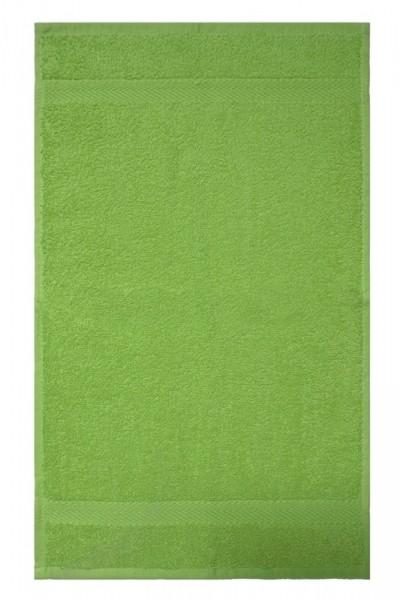 OPAL vert clair serviette visiteurs30x50