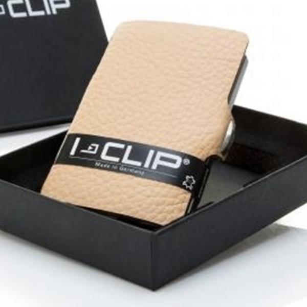 I-CLIP® V Classic natur Portemonnaie