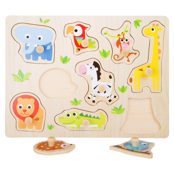 Setzpuzzle Zootiere Small Foot Design