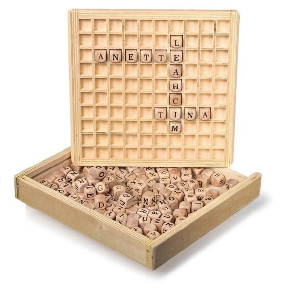Créer des mots, dans boite de Legler