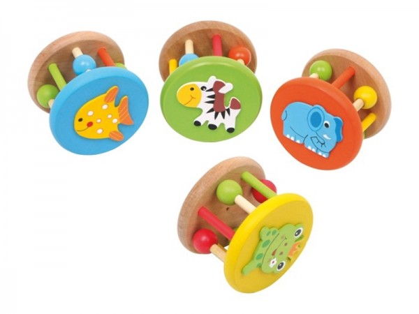 Hochets ronds -Animaux-