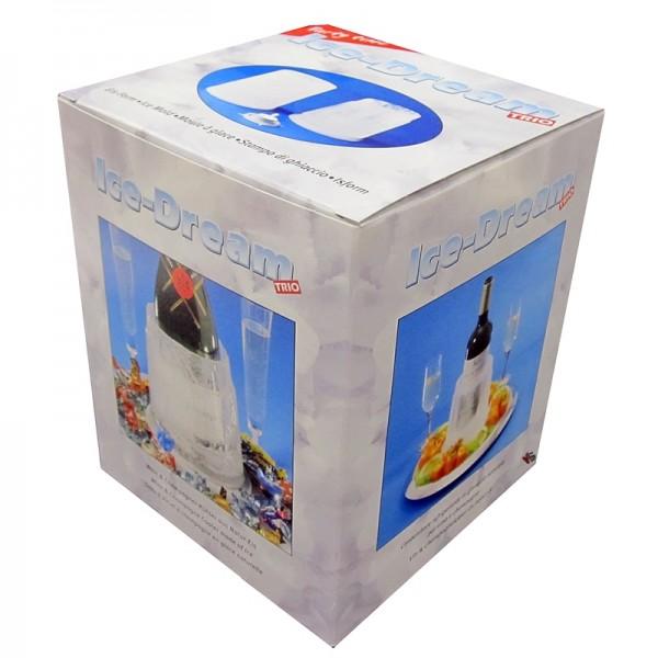 3in1: Weinkühler, Eisform, Eislicht