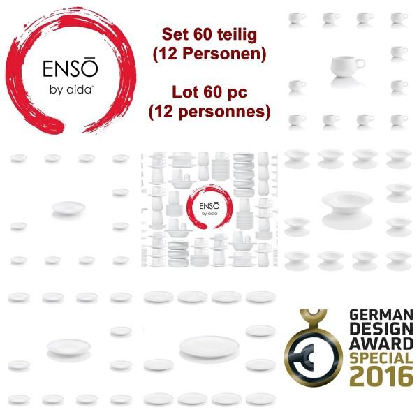 ENSO 60 teiliges Geschirrset