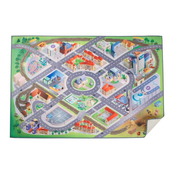 Spielteppich Stadt - Spielmatte 150x100