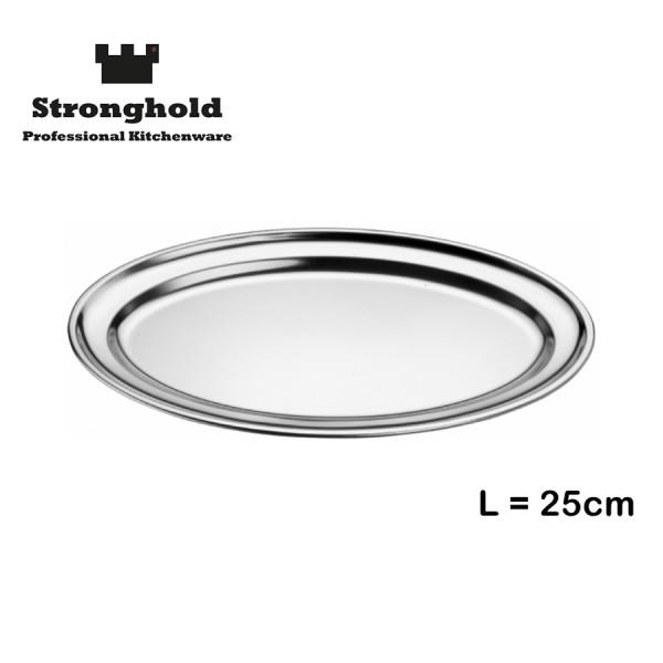 Edelstahl Tablett 25cm, von Stronghold