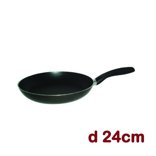 Alu Bratpfanne mit Bakelitstiel D = 24cm