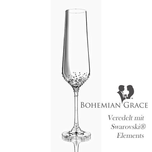 Sektglas RHEA von Bohemian Grace
