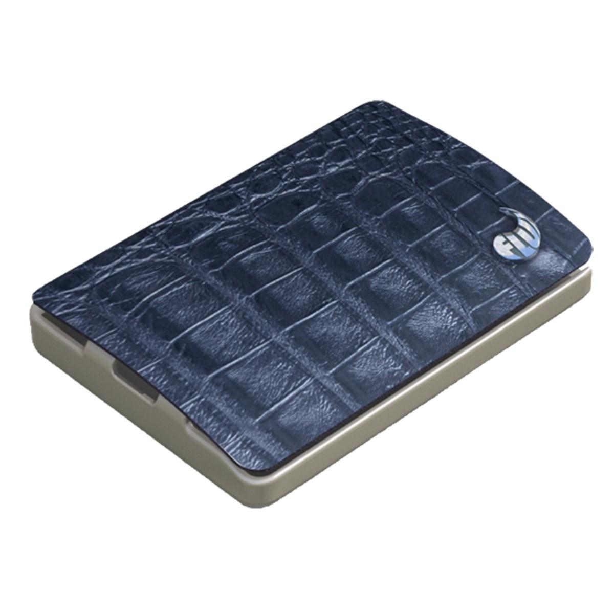 I-CLIP® V Superior Kroko blau Kartenetui, Portemonnaie, I-CLIP® V S-rior Kroko, Portemonnaie, Bl