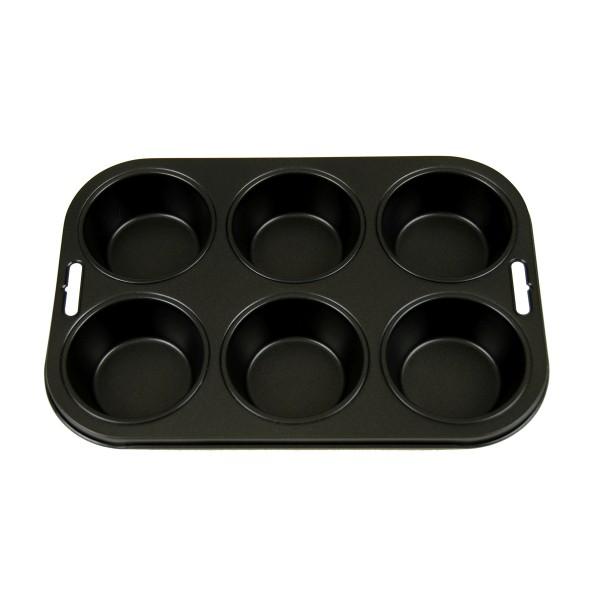 Moule à muffin d 7cm, 6 pc par plaque