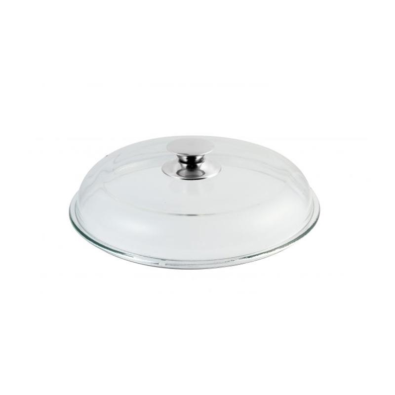 Glasdeckel, Universaldeckel für Pfannen und Töpfe d 28cm, Universal Deckel für Pfannen mit d 28cm