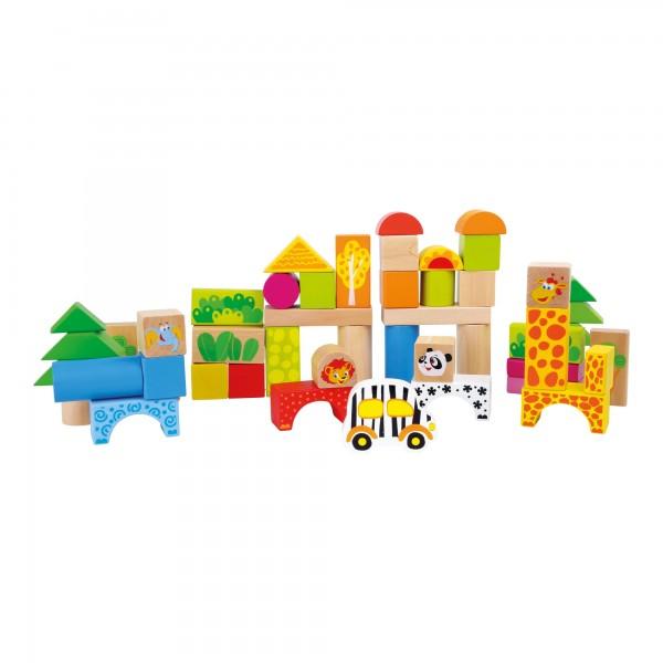 Pierres de construction en bois Zoo