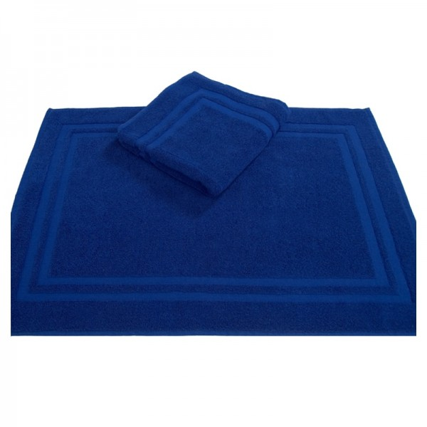 OPAL bleu cobal tapis de bain 50x75cm